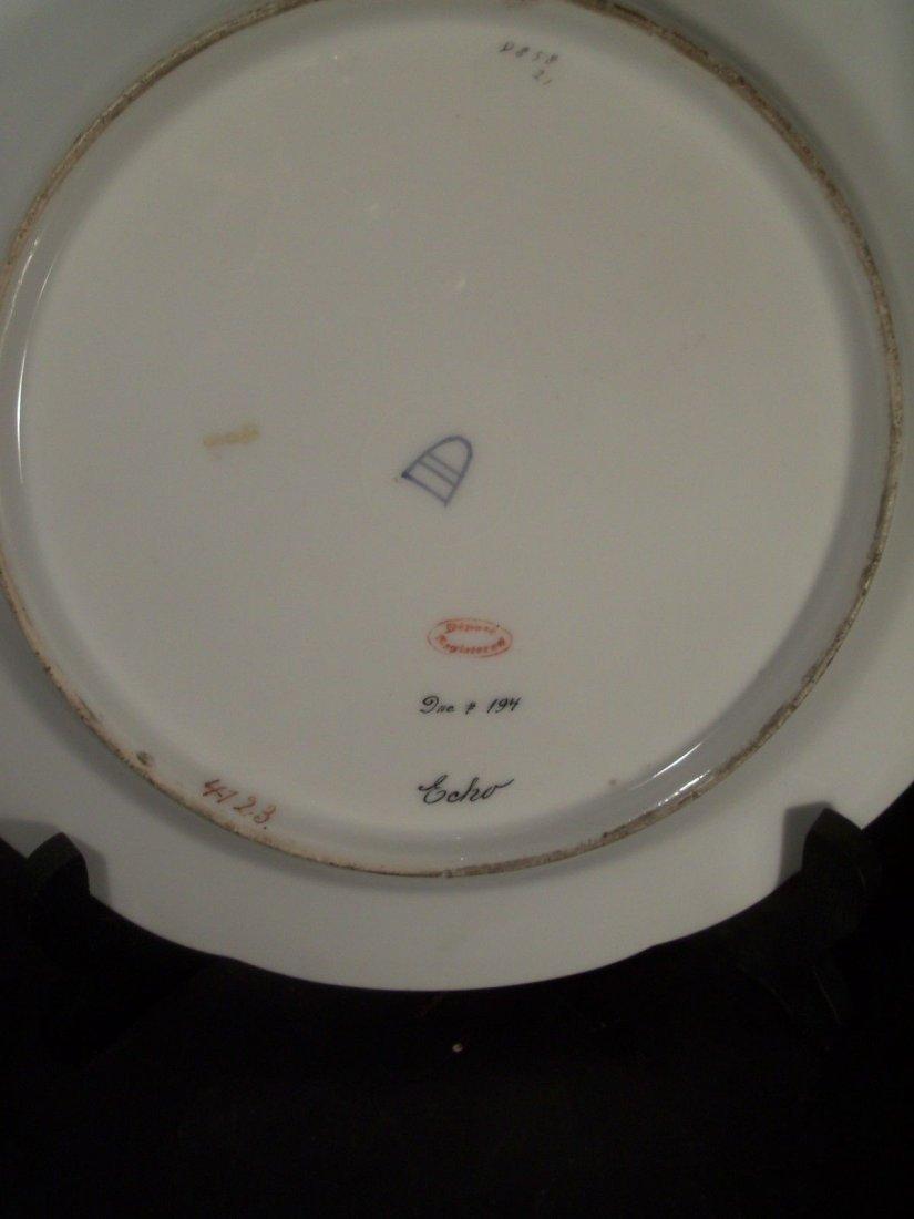 Antique Royal Vienna Porcelain Hand Painted Plate Echo - 2