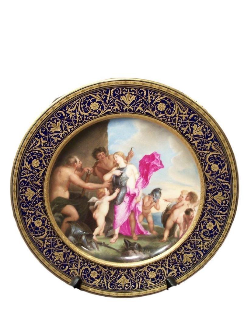 Antique Royal Vienna Porcelain Hand Painted
