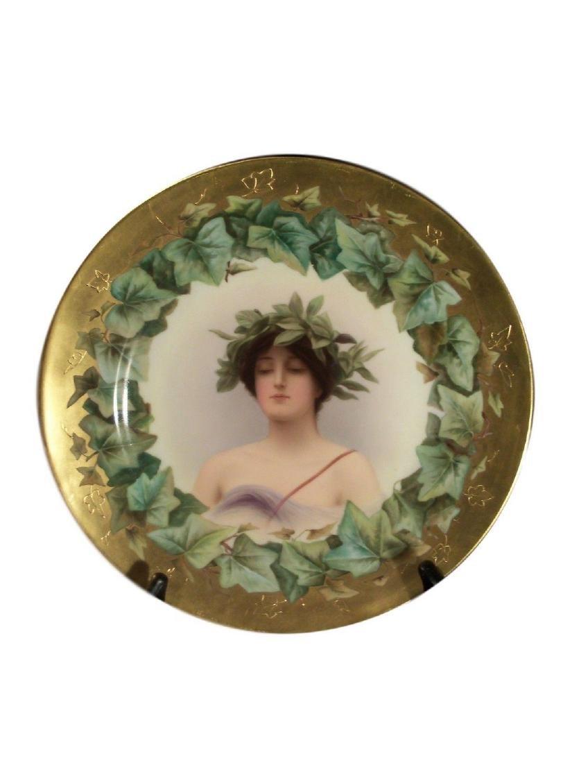Antique Royal Vienna Porcelain Hand Painted Plate