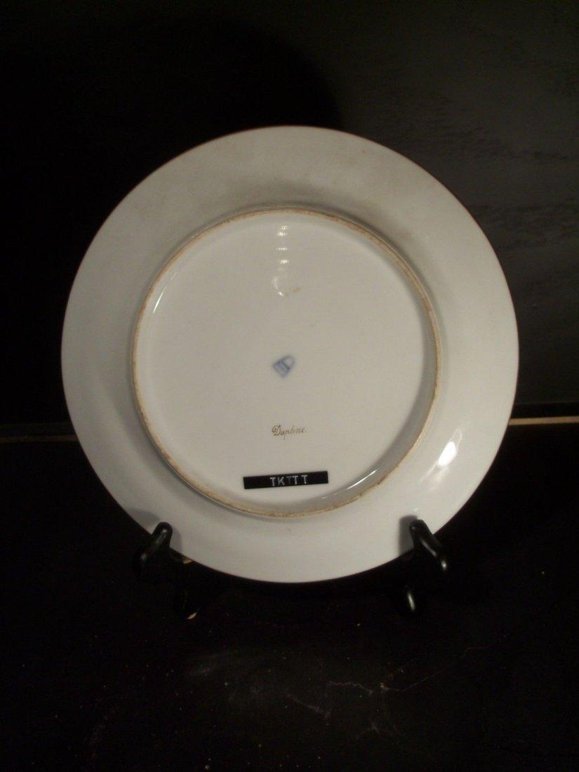 Antique Royal Vienna Porcelain Hand Painted Plate - 2
