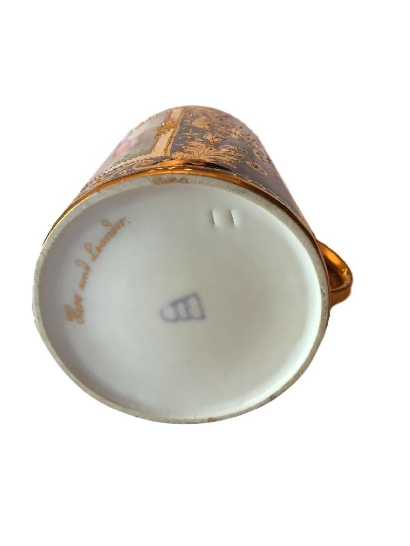 Antique Royal Vienna Porcelain Hand Painted Stein - 4