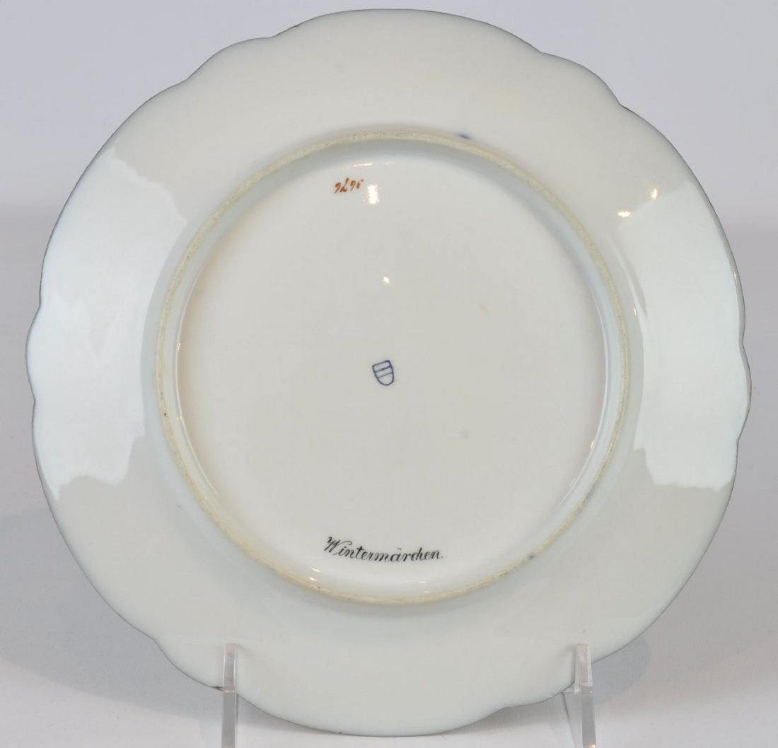 Beautiful Antique Royal Vienna Porcelain Plate - 3