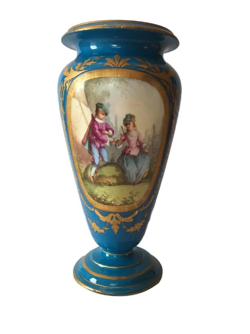 Antique Sevres Porcelain Vase