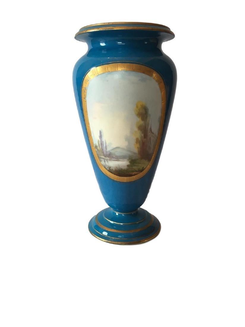 Antique Sevres Porcelain Vase - 2