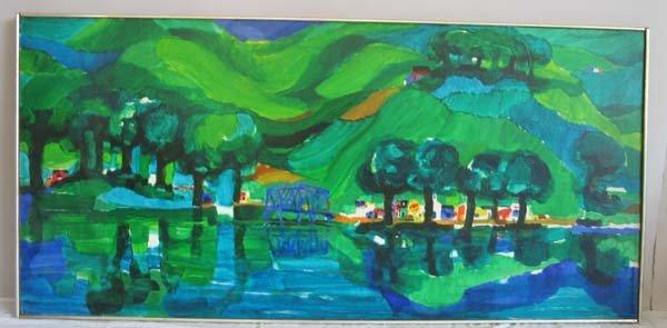 """2: Ronald Julius Christensen, """"Green Farms"""""""