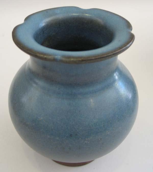 "4: Chinese Sung Style Jon Vase 6""h."