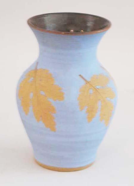 "11: Hillcrock Art Pottery Vase, 7""h."