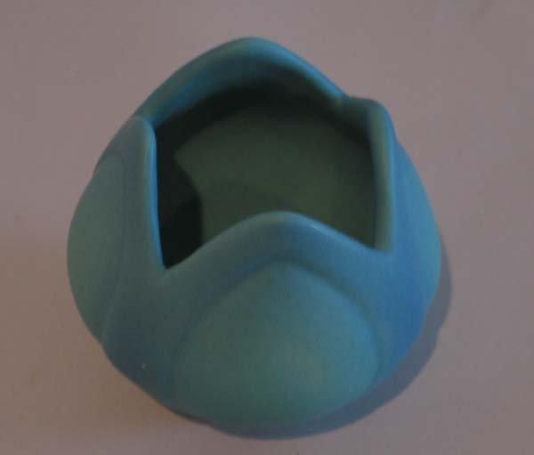 """20: Van Briggle Vase, 1940-1960, 3.5""""h."""