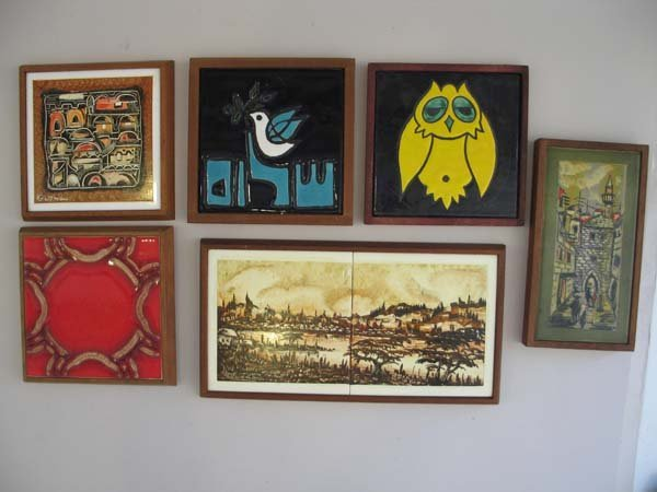 Box an ein reb art ceramic tiles israel 6 pieces reb art ceramic tiles israel 6 pieces dailygadgetfo Images