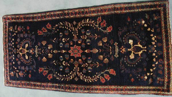 23: A Semi-antique Kirman Rug