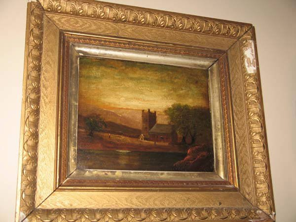 9: 19th C Oil on Canvas, probably English
