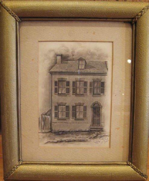 12: A Louis E. Bradford Drawing,