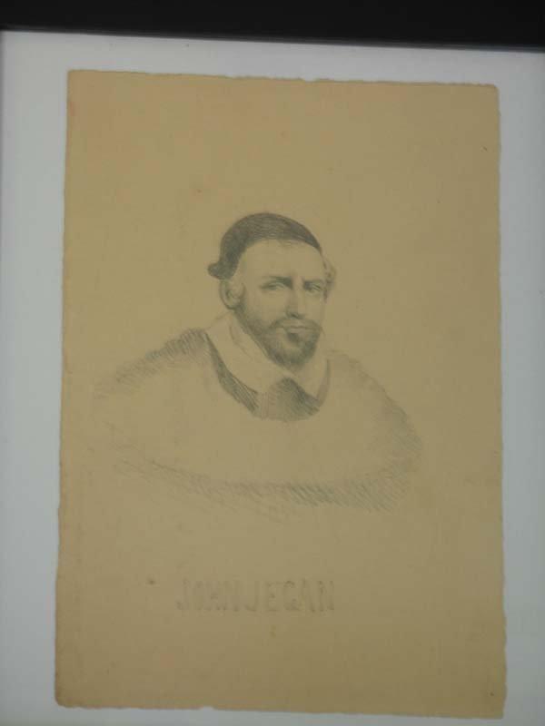16: Edward Seager Pencil Drawing