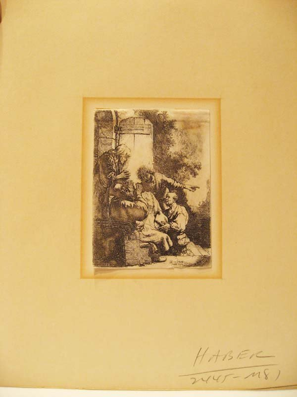 23: An Early Rembrandt Etching