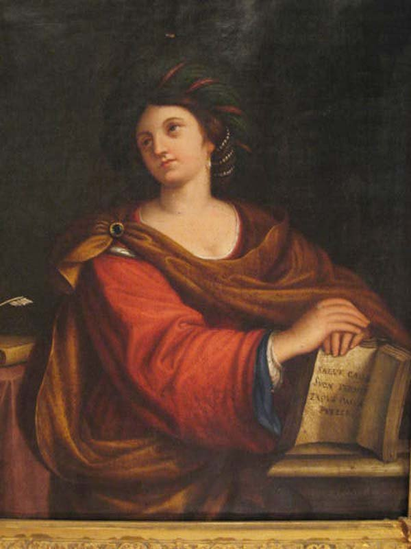 117: A Painting of Sybilla Persica