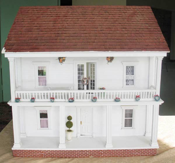 1: Colonial-style Doll House