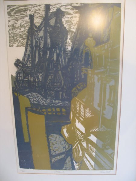 3: Alistair Bell Lithograph: