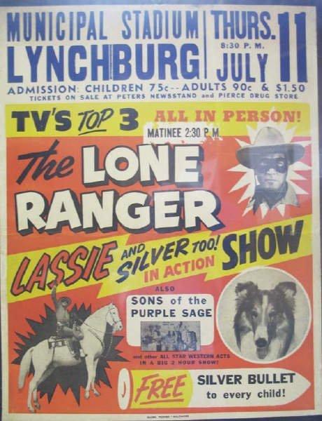 6: Lone Ranger Lassie Poster: