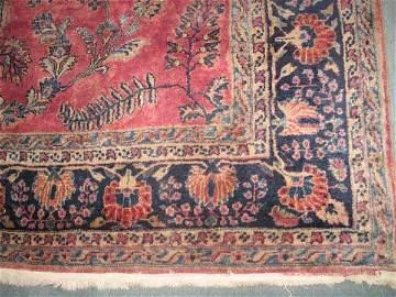 12: Persian Sarouk Mahal Rug