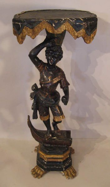 2: A 18th C Italian Figural Stand