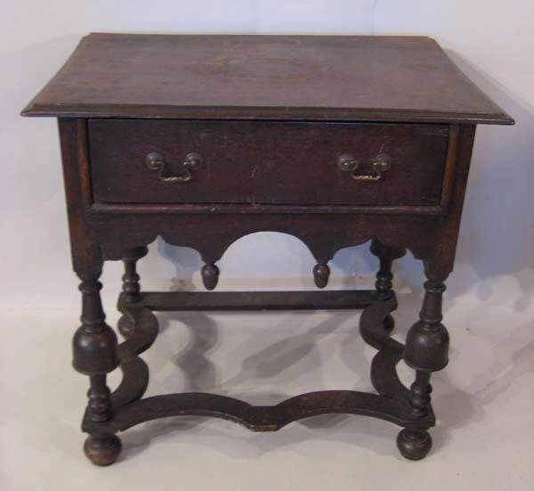 6: A William & Mary Dressing Table