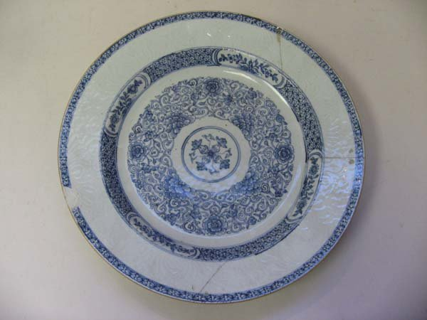 8: An 18th C Chinese Porcelain Charger