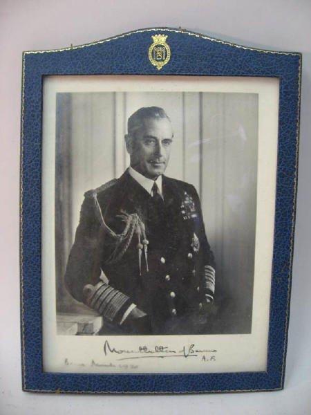 19: Photo of Mountbatten of Burma