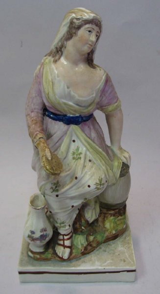 22: An E 19th C Staffordshire Figure