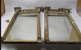 387: Pair of English Regency Gilt Mirrors