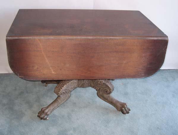 1: An E 19th C New York Drop-leaf Table,
