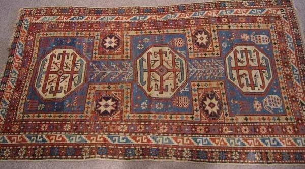 4: Antique Persian Shirvan Rug