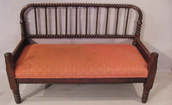 """5: A """"Jenny Lind""""-style Settee,"""
