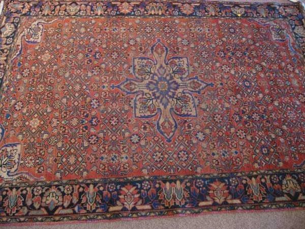 10: Old Persian Hamadan Rug