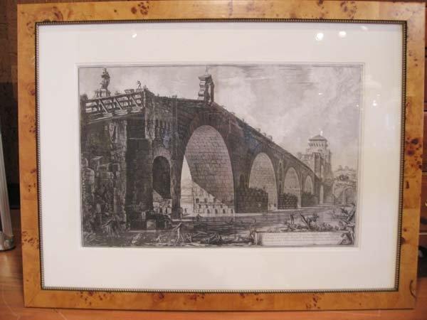15: A Piranesi Architectural Engraving: