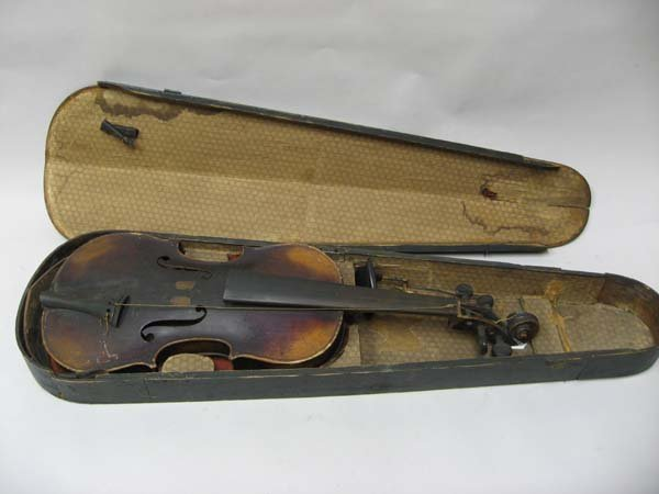 620: Richard Rubus Violin (St. Petersburg, Russia)