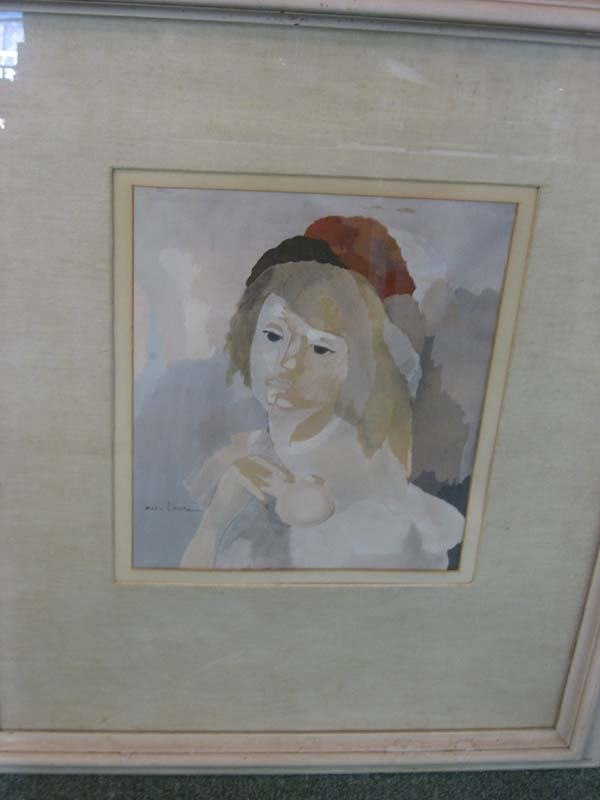 5A: Marie Laurencin gouache on paper.