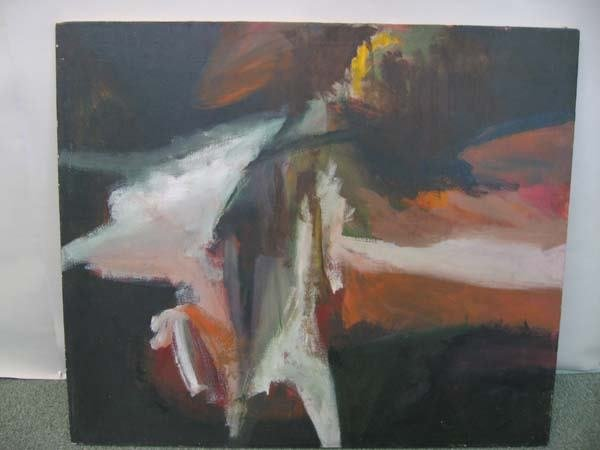 "8A: Illera oil on canvas ""Daybreak"""