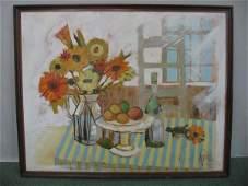 287A Lee Reynolds oil on canvas still life