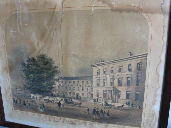 4: Two M19th C Irish Colored Prints,