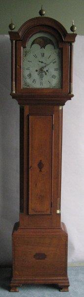 14: An 18th C Tall Case Clock,