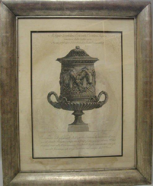 15: Piranesi Engraving of Classical Urn
