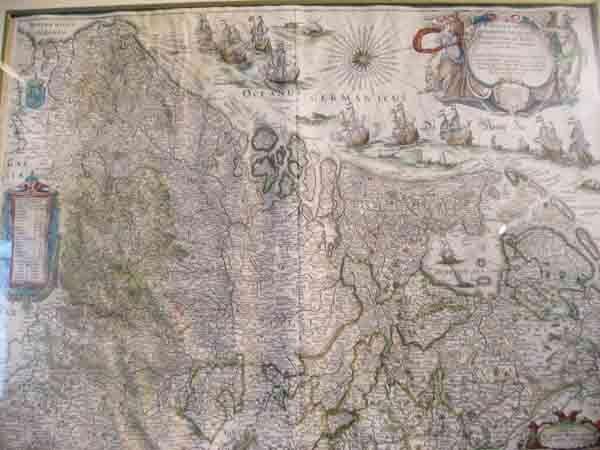 17: A L16th/E17th Willem Blaeu Map,
