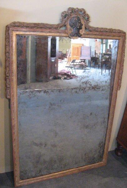 493: A Classical Gilt Mirror