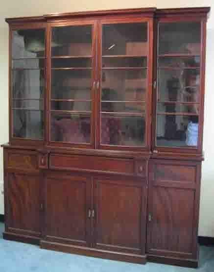 5: A Regency Breakfront, c. 1825,