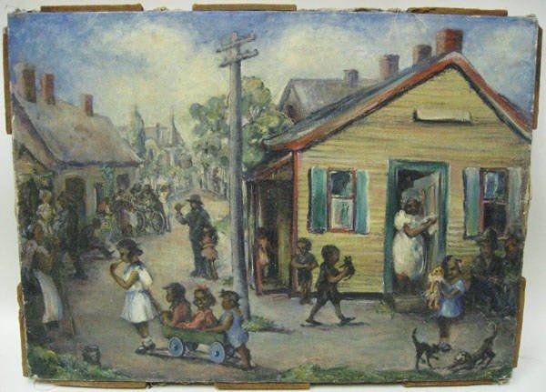 13: A Parcolt (?) Painting,