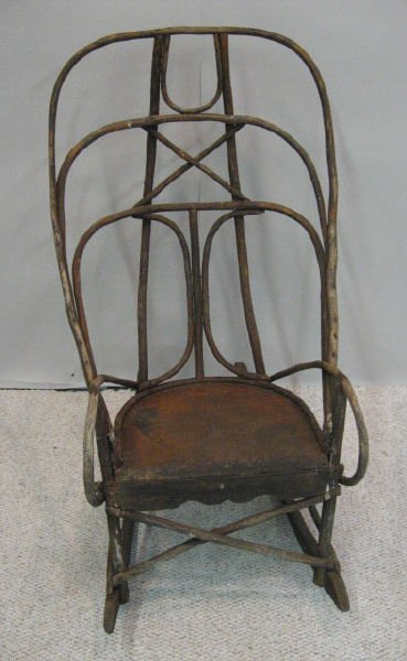 15: An Early Twig Rocking Chair,