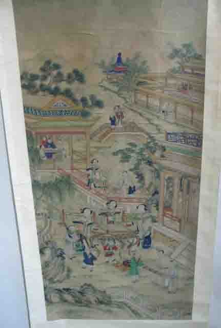 19: A Chinese Scroll Painting,