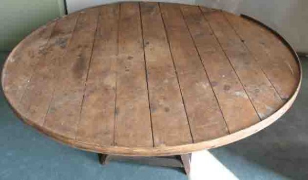 20: An Early Wine or Grape Sorting Table,