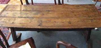 197: A Very Early Trestle Table,