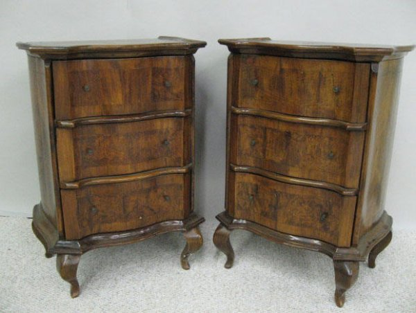 297: A Pair of 19th C French Commodes,